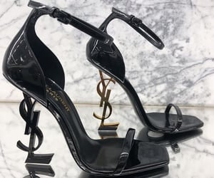 YSL, fashion, and heels image