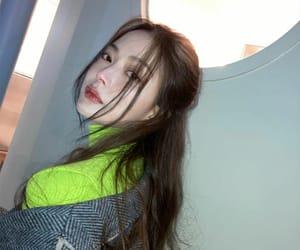 hairdo, korean, and model image