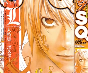 anime, death note, and magazine image