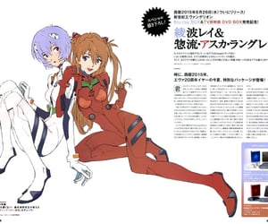 90s, rei ayanami, and covers image