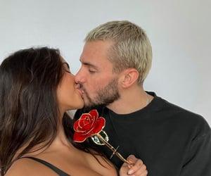 boyfriend, girlfriend, and kiss image