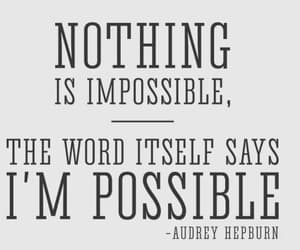 article and nothingimpossible image