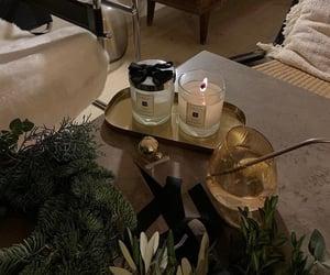 candles, home, and christmas image