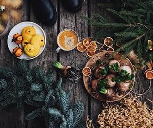 baking, orange, and winter image