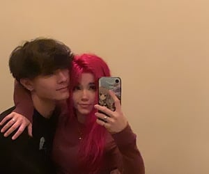 adorable, couple, and goals image