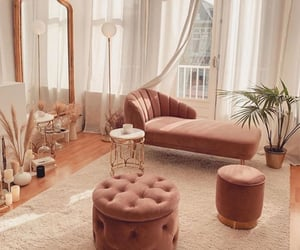 home, pink, and interior image
