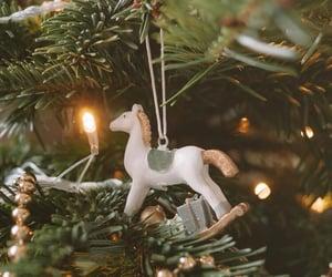 animals, christmas, and christmas tree image