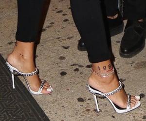 rihanna, shoes, and theme image