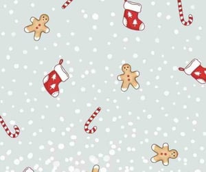 aesthetic, christmas, and wallpaper image