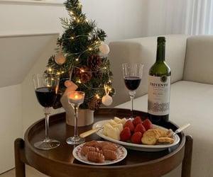 christmas, food, and date image