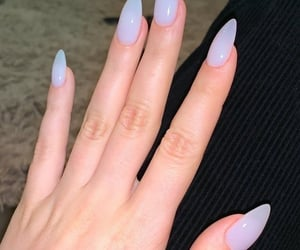 hands, long, and purple image