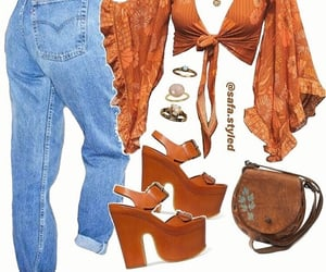 70s, fashion, and style image