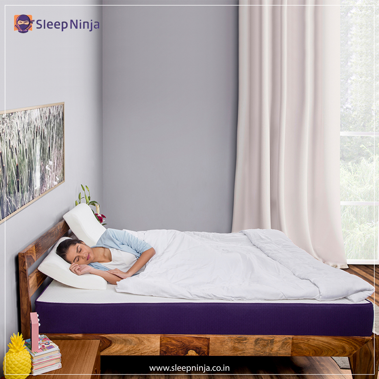 article, buy mattress online, and super soft pillow image