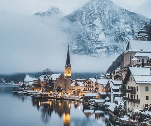travel, winter, and beautiful image