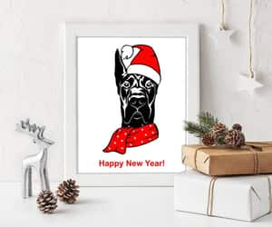 etsy, last minute gift, and great dane print image
