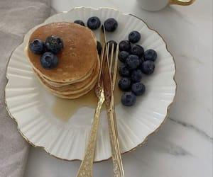 coffee, pancakes, and food image