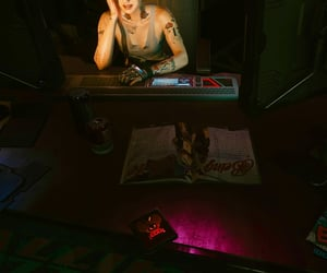 clutter, dark, and reading image