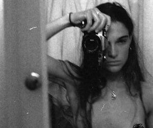 analog, mirror, and self-portrait image