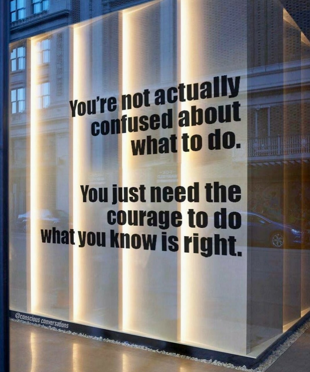 confused, courage, and life image
