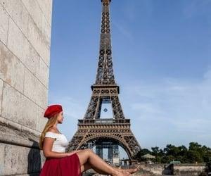 torre eiffel, foto inspiração, and pont d'iena image