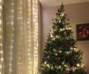 2020, christmas tree, and december image