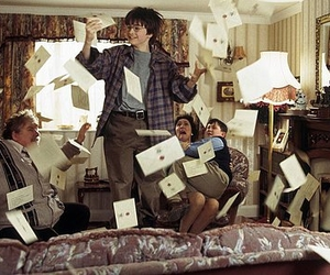 harry potter, hogwarts, and letters image
