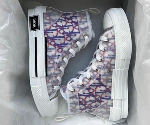 dior, sneakers, and shoes image