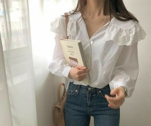 jeans, korean, and outfit image