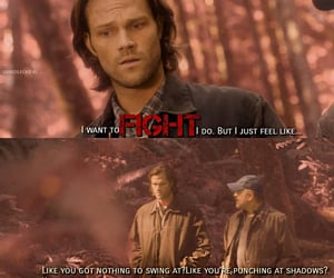 spn, sam winchester, and scene image