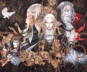 art, belmont, and castlevania image