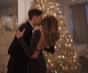 couple, love, and christmas image