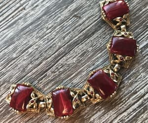 costume jewelry, etsy, and art deco jewelry image