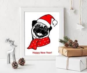 etsy, last minute gift, and hello 2021 dog image