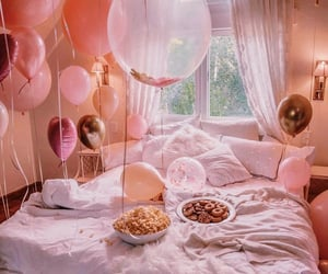 balloons, birthdays, and chill image