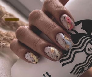 fresh nails, aesthetic, and nails image