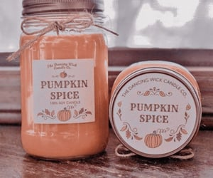 autumn, theme, and pumpkin spice image