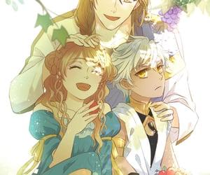 anime, anime girl, and blonde hair image