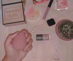 perfume, apple, and bag image