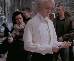 harry potter, draco malfoy, and potter image