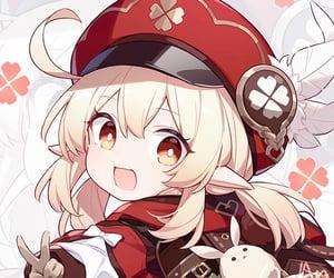 genshin impact, anime, and game image