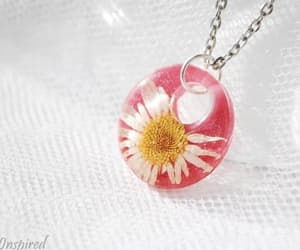 flower, jewelry, and necklace image