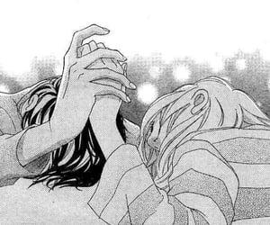 couple, manga couple, and blue spring ride image