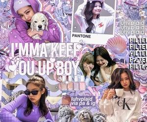 jennie, overlays, and kpop edits image