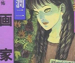 anime, glitch, and junji ito image