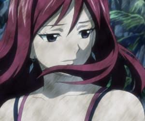 anime, erza, and jellal image