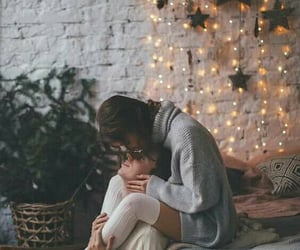 christmas, couples, and lovers image