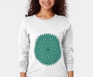 geometry, long sleeve, and tshirt image