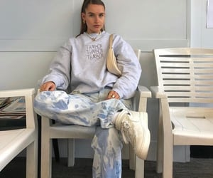 comme des garcons, streetwear, and grey sweater image