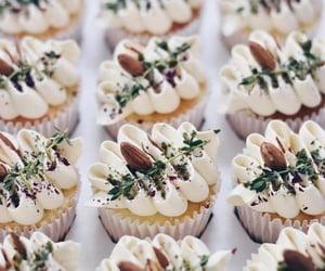 almond, cupcakes, and dessert image