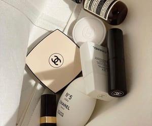 cosmetics, chanel, and lipstick image